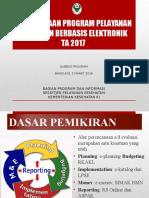 Perencanaan Program Pelayanan Kesehatan Berbasis Elektronik