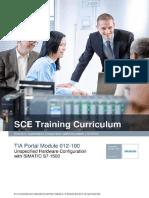 SCE-Hardware Configuration S7-1500 (2016)