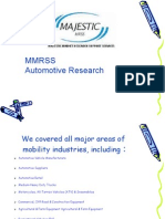 MMRSS Automotive Marketing Research