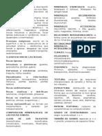 Petrografía resumen