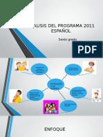 Analis de Programa Espanol 2011