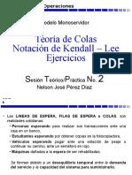 Notacion Kendall Lineas Espera