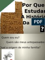 Aula História Da Igreja  - Uma Introdução