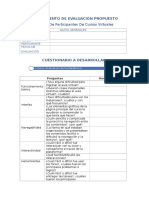Instrumento de Evaluación Propuesto - Ronald Iván