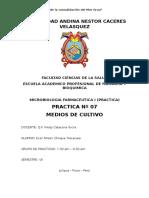 informe de microbiologia medios de cuultivos.docx