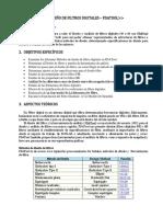 Diseño de filtros digitales con fdatool