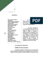 Dictamen Consejo de Estado anteproyecto de Ley de modificación de la Ley 30/2007 y 31/2007 para su adaptación a la Directiva de Recursos.