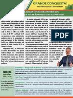 Renegociação das Dívidas Rurais - MP 733/2016 - Deputado Federal Zé Silva