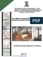 TRATAMENTO DE EFLUENTES FRIGORIFICO E MATADOURO BOVINOS