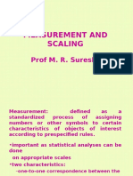 Mesurement and Scaling in Marketing Research
