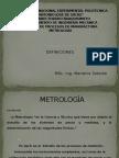 Definiciones de la Metrología