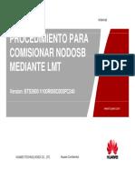 Procedimiento Para Comisionar NodoB Mediante LMT