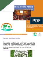 Presentación Conferencia Evento Social