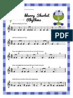 Blackberry Sherbet Rhythm