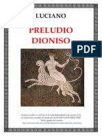 Luciano - Preludio Dioniso