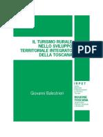 Andrea Giacomelli - Il Turismo rurale nello Sviluppo territoriale integrato della Toscana