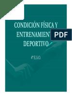 Condición Física y Entrenamiento Deportivo 4º Eso_0