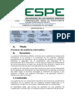 Procesos Auditoria Informatica