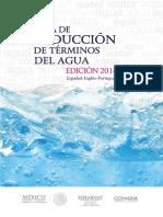 Guía de traducción de términos del Agua