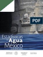Eam 2015Estadísticas del Agua en México, edición 2015