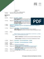 Cronograma Disertaciones Congreso 2016 V23