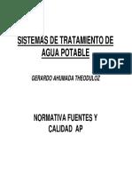 Normas de Agua Potable