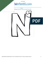 Imprimir Letra N