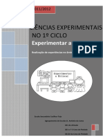 PROJETO Experimentar Brincar 2011-2012