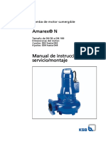 Amarex N - 563.81!11!30 Manual de Instrucciones de Servicio_montaje