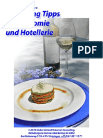 Marketing Ideen Gastronomie