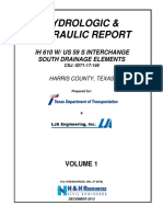 Hydrologic and Hydraulic Report TxDOT