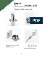 NetShape MIM Design Guide