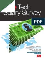 Dice TechSalarySurvey 2016