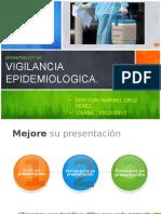 Presentacion No.15. Vigilancia Epidemiologica.