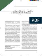 Alzheimer -Terapeútica Del Deterioro Cognitivo