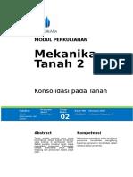 Modul Mekanika Tanah II