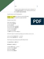 TOIEC Grammar - Question Tags