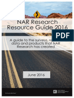 2016 NAR Research Resource Guide