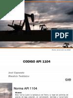Presentación Norma API 1104