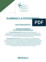 livro florinha e a fotossintese.
