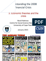 3. Economic Theories of the Crisis
