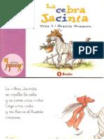 El Zoo de Las Letras. La Cebra Jacinta. 0