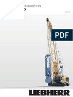 Liebherr Hs 8130 Hd Duty Cycle Crawler Crane Technical Data Sheet Spec Specifications 16224 0 (2)