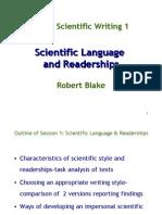 Language and Readerships