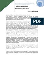 4. El Derecho Comercial Como Derecho de La Empresa y Como Derecho de La Actividad. Marcelo Gebhardt
