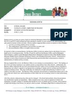 Burlington School District, Student Accounts Review