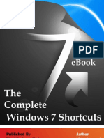 The Complete Windows 7 Keyboard Shortcuts