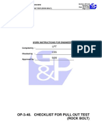 pull out test