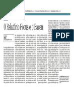 O Reltório Focus e BACEN CP 18 02 2016