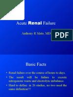 Acute Renal Failure Lecture